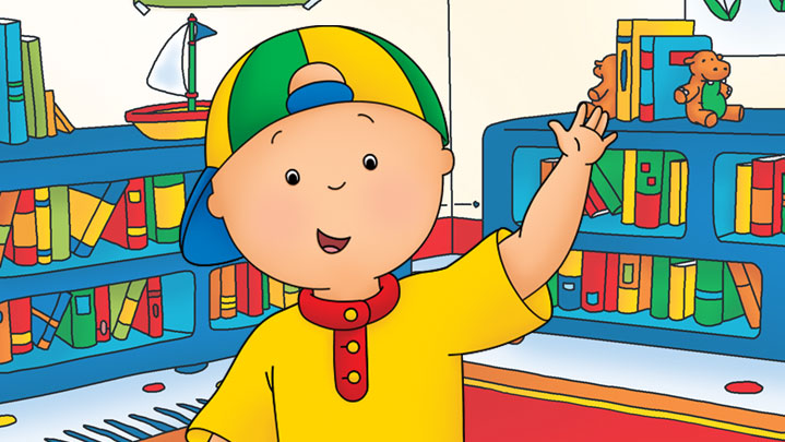 Kids Tv Show Caillou
