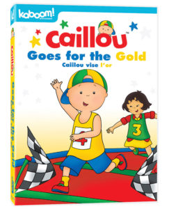 CAILLOU_GoesForTheGold_DVD